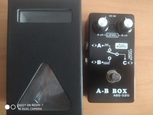 Pedal A-B box