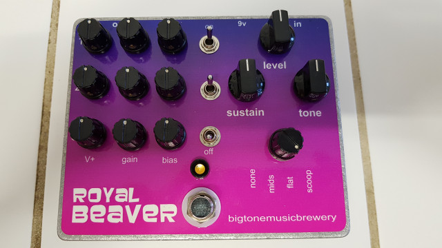 Big Tone Music Brewery Royal Beaver Fuzz (Big Muff)