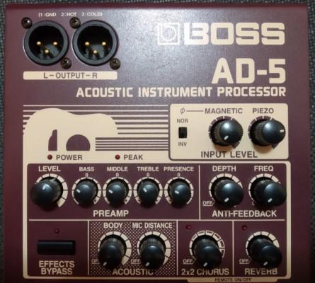 BOSS AD-5 Pedal Efectos Acústico