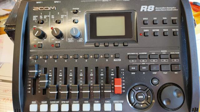 Grabador Multipista ZOOM R8