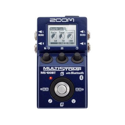 Pedal multiefectos Zoom MS-100BT. Nuevo con factura y envío