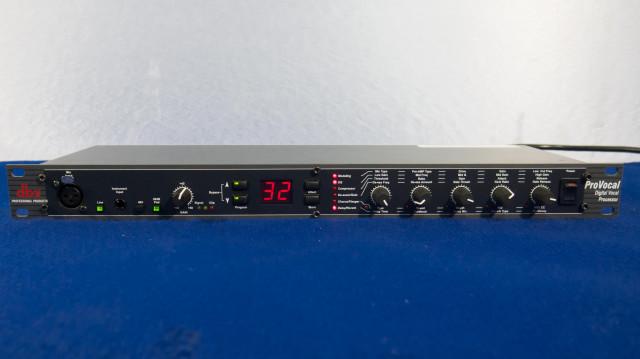 El Procesador de Voz dbx ProVocal