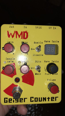 WMD Geiger Counter - Bitcrusher, fuzz y glitch - SÓLO PARA VALIENTES!!
