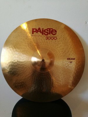 "Platillo crash 18"" Paiste"