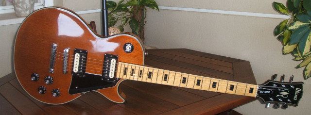Ibanez 2393 Custom (Les Paul style) Pre Lawsuit 70's Japan