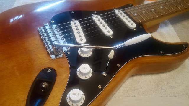 Eléctrica Stratocaster luthier