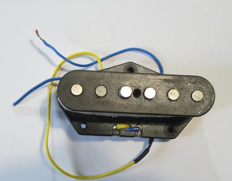Pastilla Fender: 1 Tele Single-Coil (puente)
