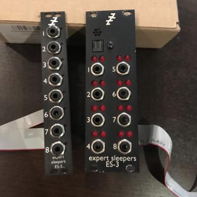 Expert Sleepers ES3 Mk3 Lightpipe CV Interface Module + expander
