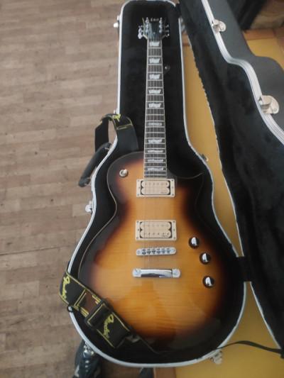Guitarra LTD 401, con pastillas Di Marzio