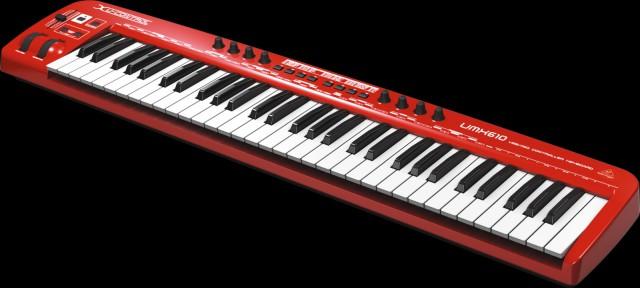 Behringer UMX610 Teclado Maestro USB/MIDI 61 Teclas COMPLETAMENTE NUEVO