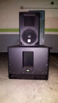 Equipo de sonido activo kv2 audio.
