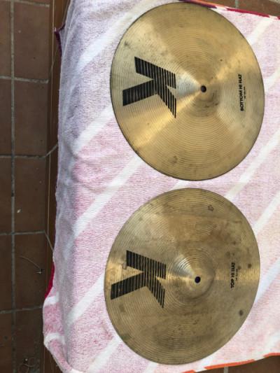 "Hi Hat Zildjian de la serie K de 14"""