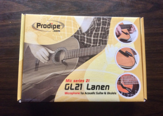 Micro para guitarra y ukelele Prodioe GL21 Lanen