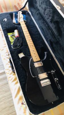 Fender Telecaster HH blacktop