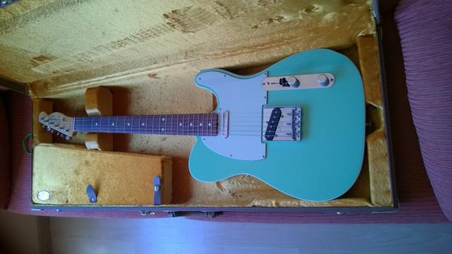 Telecaster AVRI '62 Custom Surf Green