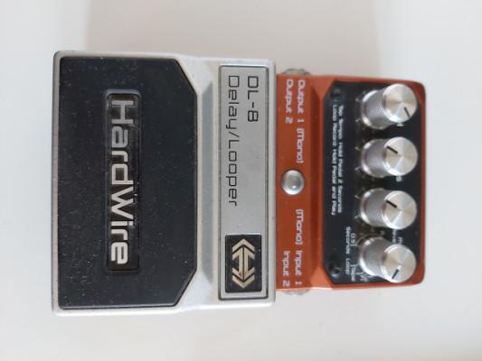 Pedal digitech delay de guitarra