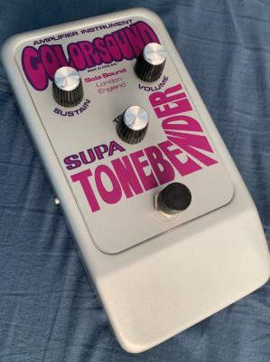 Colorsound Supa Tonebender Fuzz, Personal Collection