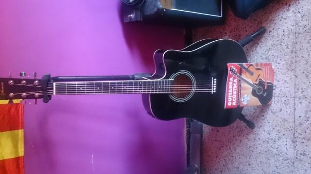 Guitarra electroacustica axman