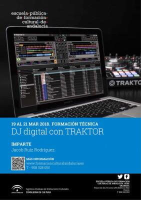 Curso de Dj Digital con Traktor en Granada.