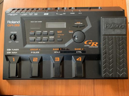 Vendo Sintetizador Roland GR-33 y pastilla GK-2