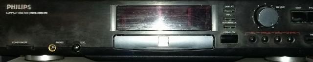 Reproductor/grabador Cd Philips