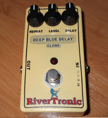 Pedal guitarra eléctrica Deep Blue Delay MAD PROFESSOR