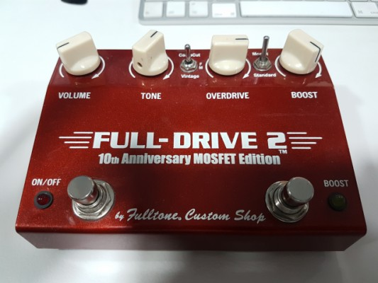 fulltone full drive 2 10 th anniversario