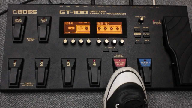 VENDO BOSS GT-100 EN PERFECTO ESTADO