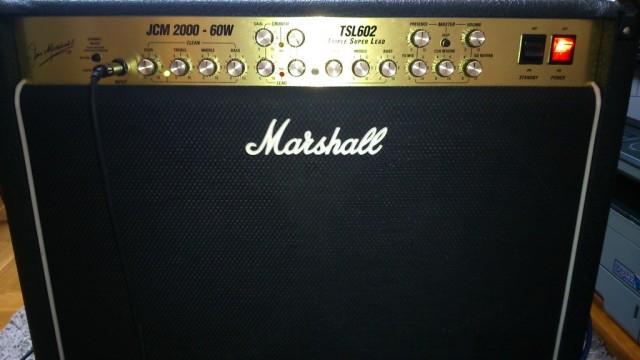 Marshall jcm 2000 TSL602 combo.
