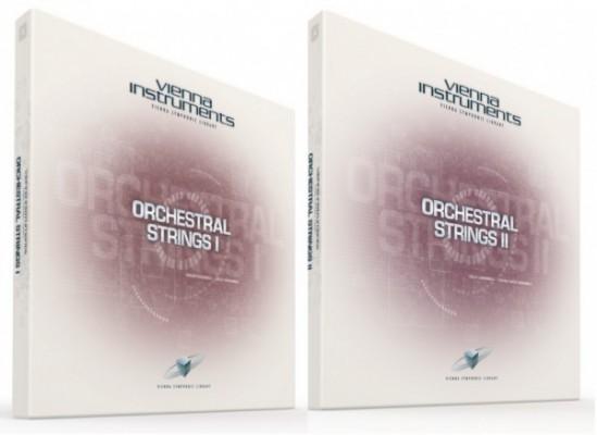 libreria VSL orchestral strings I y II standart con llave usb.