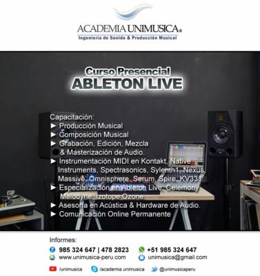 Curso de Producción Musical en Ableton Live