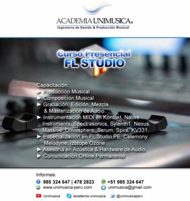 Curso de Producción Musical en FL Studio PE