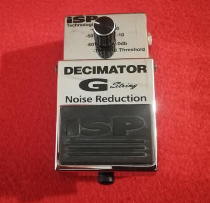 Isp Decimator G string Noise Reduction