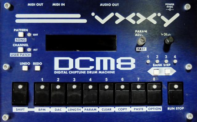Caja de ritmos DCM8 [VENDIDA]
