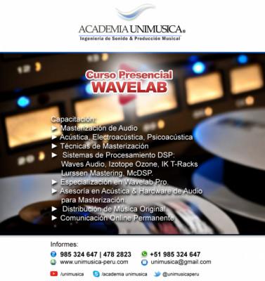 Curso de Masterización en Wavelab Pro