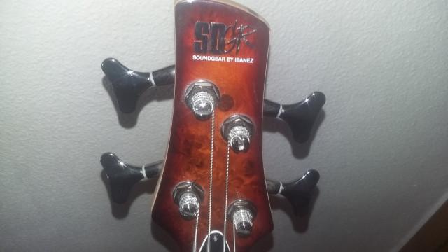 SDGR by Ibanez SR400PB Bajo activo 4 cuerdas