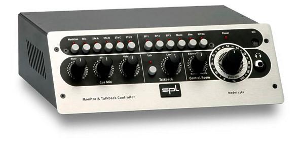 SPL 2381 monitor & talkback controller