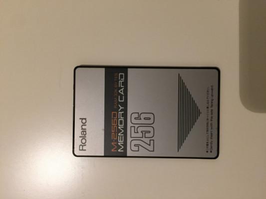 Tarjeta Roland D50 M-256D