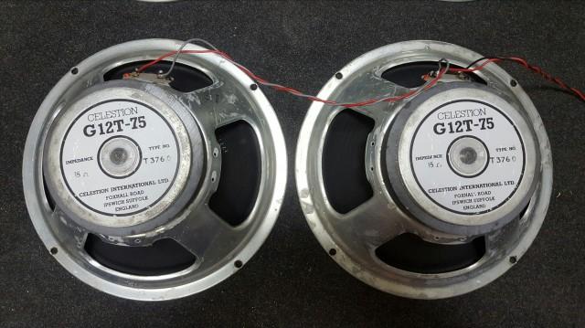 CELESTION G12T-75 80's