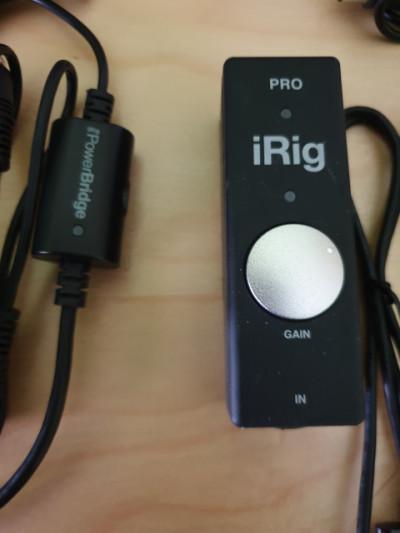iRig Pro + Powerbridge