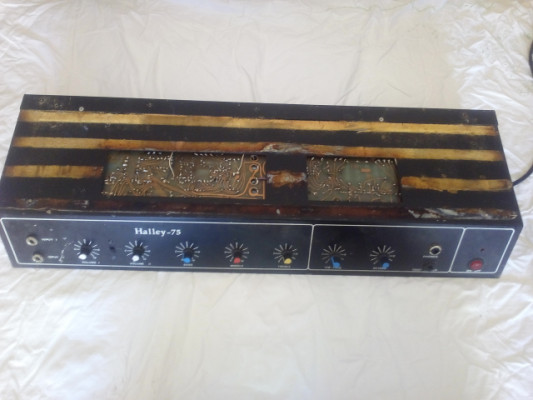 Amplificador Talmus Halley 75 ( 75W ) 2 unidades.