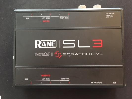 Rane SL3 serato scratch live