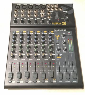 Mezclador Analógico-NRV10 M Audio & Interfaz De Audio Firewire