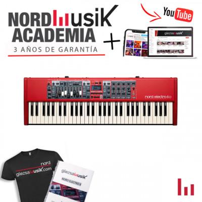 Nord Electro 6D 61 - 3 años de garantía