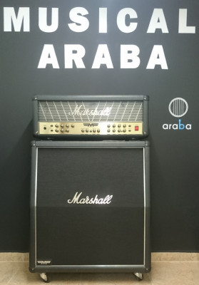 Cabezal y Bafle de Guitarra Marshall Mode Four MF 350