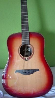 Guitarra acústica Lag T100D BRS