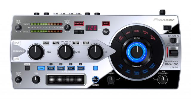 Pioneer RMX 1000 Platinum Edition + Funda + Tarjeta de memoria