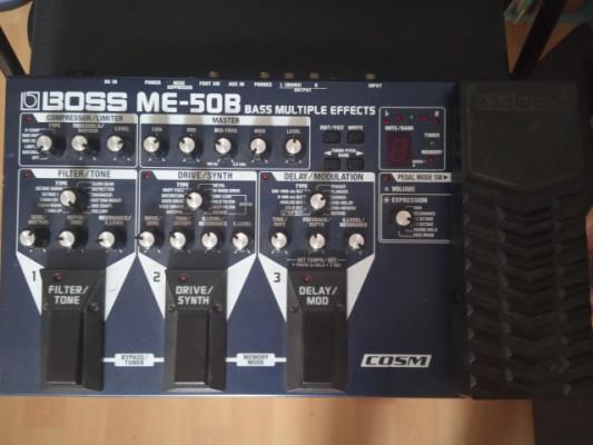 BOSS ME -50B BASS MULTIPLE EFFECTS