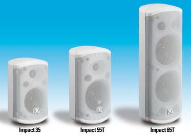 Turbosound Impact instalacion monitores
