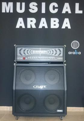 Cabezal y Bafle de Guitarra Crate GT-3500H